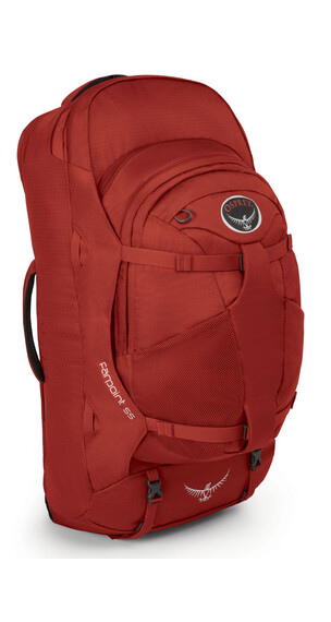 Osprey Farpoint 55 Reisbagage M/L rood